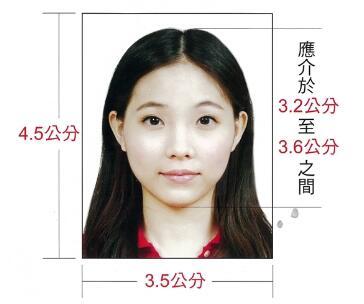新加坡签证材料照片模板
