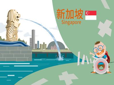 申请新加坡电子签证流程最简单吗?